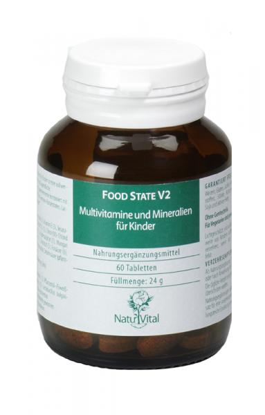 Multivitamine und Mineralien für Kinder (Food-State)