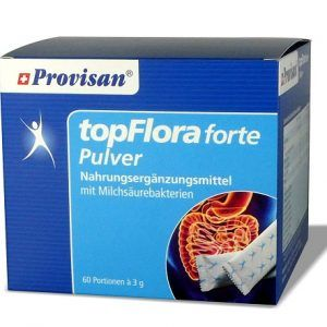 topFlora forte Pulver Stickpack's